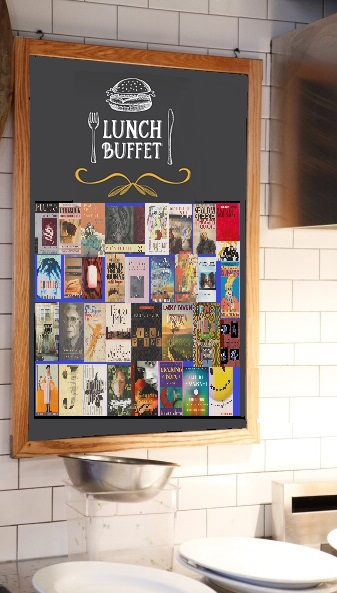 Buffet Lunch page signage