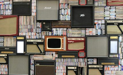 books+vintagetv-radio